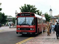 Ribble 897 840802 Carlisle [jg] (maljoe) Tags: ribble ribblemotorservices ribblebuses nbc nationalbuscompany leylandnational