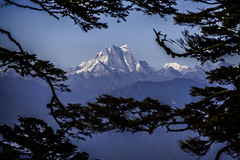 Stunning view from Dochu La, Bhutan