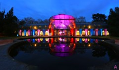 IMG_1881_stitch (AndyMc87) Tags: winterlichter palmengarten frankfurt haus architecture hessen stitch ice ilumination lightpainting langzeitbelichtung longtimeexposure canon eos 6d 2470 l colourful lights blue hour clouds water wasser reflektion