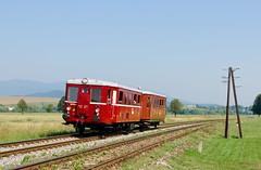 Hurvajz (Nikolaj Šeršeň) Tags: m131 m1311443 hurvínek ossv 2nsl221 zsr 170 jazernica ah bodovice mdc mimoriadny vlak súpravový turiec šero