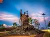 Pope John Paul II Statue, Dili East Timor (1 of 1) (33 of 1) (Nillllll) Tags: easttimor timor timorleste catholic sunset goldenhours hdr