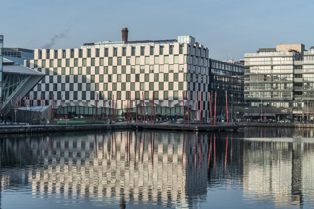 GRAND CANAL DOCK AREA OF DUBLIN [PHOTOGRAPHED 11 JANUARY 2018]-135438