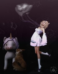 I don't think the unicorn knows you're having a staring contest with her, Ginger…. T (gwen.enchanted) Tags: 7deadlys{k}ins anatomy bauhausmovement catseye eve egosumaii ersch jian kraftworkhera maitreya nomi stockholmlima theplastik truth vista