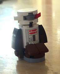 Jake the Droid (Evan Ridpath) Tags: lego star wars last jedi jake droid tomorrowland attraction disney disneyland d23 astromech r2d2 minifigure custom