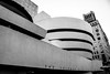 Solomon R. Guggenheim Museum - New York (SSnapDragon) Tags: building buildings canon tall round circular blackandwhite greyscale unique bw text