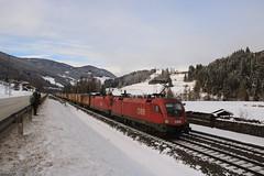 2x taurus met Nothegger containertrein (vos.nathan) Tags: österreichische bundesbahn öbb taurus 1016 037 steinach am brenner