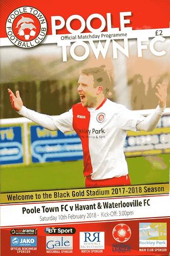 Poole Town v Havant & Waterlooville