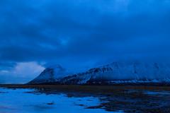 Sunrise, Snaefellsness Peninsula (JessicaAuen) Tags: dawn subarctic iceland winter snow peninsula sky clouds skyskape blue tundra