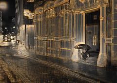 just do it 2zsz4 (duncan!) Tags: leica m262 voigtlander 40mm f12 nokton vm street night light shadow umbrella london streets hide crouch rest abstract extreme crystalcity rain raining