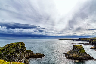 The coast at Arnarstapi - Iceland