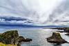 The coast at Arnarstapi - Iceland (dejott1708) Tags: arnarstapi snæfellsnes peninsula basalt rocks coast iceland ísland clouds ocean sea landscape