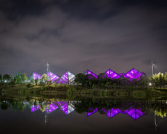 Universiade (E&R's) Tags: longexposure long exposure oneminute minute one tokina nikon d7200 stadium night photography reflection shenzhen china southeast guangdong east