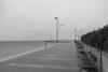 Deserted (Number Johnny 5) Tags: lines tamron d750 2470mm space streetlamps urban imanoot angles benches gloomy deserted empty documenting posts johnpettigrew seaside
