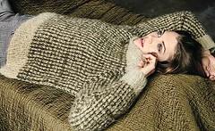 Casual knitwear (Mytwist) Tags: tofarget raglangenser strikk ullar faroe isle iris knit knitwear style fashion outfit tn tneck wool fetish retro classic craft winter women sweater design love girl wife