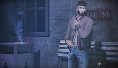 Break the rules.. (francisco.silent) Tags: franciscosilent secondlife adclothing hipstermensevent ks kalback mancave noir straydog themensdept tmd yuth