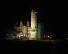 Moszna Castle at night. (Adam Nowak) Tags: reflection light oświetlenie noc iluminacja