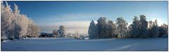 Nannestad 9. januar 2018 (#1) (Krogen) Tags: norge norway norwegen akershus romerike nannestad winter vinter landscape landskap krogen fujifilmx100 imagecompositeeditor panorama
