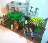 Lego Separatist Outpost (Legoswbr) Tags: lego star wars clones droids outpost separatist