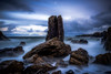 Stacked Odds (Augmented Reality Images (Getty Contributor)) Tags: longexposure water coastline landscape seastack scotland waves littlestopper rocks canon morayfirth portsoy nisifilters seascape clouds unitedkingdom gb