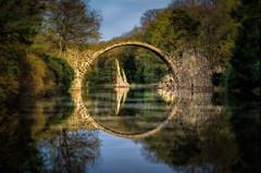 Bridge of Thrones (hpd-fotografy) Tags: gameofthrones bridge fairytale forest landscape light longexposure phantasy water