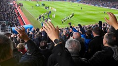 Crystal Palace versus Burnley, Jan 2018 (Paul-M-Wright) Tags: selhurst park football stadium ground london uk soccer fans supporters crystal palace versus burnley premier league saturday 13 january 2018 cpfc bfc se256pu