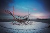 The sun voyager (digitaloptics) Tags: iceland sculpture clouds water snow canon 5dmarkii wide mountain