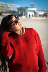 _DSC0368 (KingCamification) Tags: sandiego california 28 missionbay missionbeach beach sand sunlight model tania sunglasses