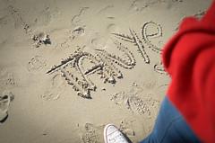 _DSC0333 (KingCamification) Tags: sandiego california 28 missionbay missionbeach beach sand sunlight sandwriting