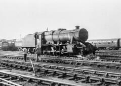 What next? (4486Merlin) Tags: consolidation england europe exlms lms8fbigeight mpd northyorkshire railways steam transport unitedkingdom york gbr 48359