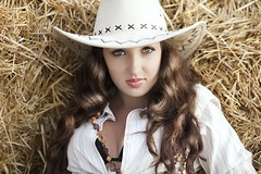 Country Girl Swag (ClvvssyPhotography) Tags: redhead indoors indoor style fashion poses people person barn town texas coleman countrygirl clothing model beauty cherrylyles country cowgirl