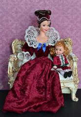 Victorian Ladies (Emily-Noiret) Tags: barbie kelly victorian holiday doll vintage mattel sentimental valentine