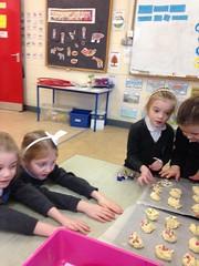 Making Smarties Cookies in Aistear - Mrs Flood's Junior Infants