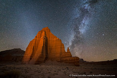 December Milky Way (David Swindler (ActionPhotoTours.com)) Tags: capitolreef milkyway stars utah winter night nightphotography
