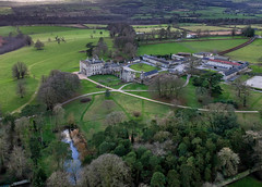 Grounds of Borris house (R.P.G Photography) Tags: one dji spark phantom4 phantom ireland landscape photography amateur sky clouds cloud green fields sun sunshine afternoon follow beautiful nature mountains old historic forest field tree grass mountain