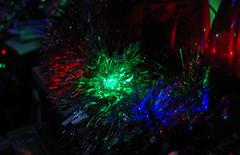 IMGP9038 (mattbuck4950) Tags: england unitedkingdom europe somerset northsomerset wraxall christmaslights christmas lenssigma18250mm january night charmwooddiningroom tinsel camerapentaxk50 christmas2017 2018 gbr