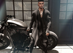 #N5 (dumeric_asp) Tags: motorcycle moto portrait biker gabriel catwa bento fashion addict style mens men