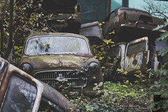 Graveyard (Denisa Colours of Decay) Tags: abandoned abandonedplaces urbex urbanexploration urban exploration explore exploring car cars graveyard cemetery canon austria vehicle czphoto forgotten lost rotten decay decaying