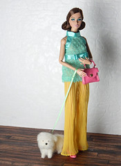 Bright - my inspiration squad (Levitation_inc.) Tags: doll dolls fashion integrity toys poppy parker outfit miniature dog spy go