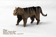 Tigre - Komatsu Hideo (Jaime Niño B.) Tags: tigre komatsu origami papiroflexia