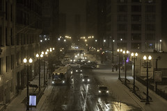 Just... just a mess (aerojad) Tags: eos canon 80d dslr 2018 winter outdoors chicago city urban snow cold ice snowing weather streetphotography streetscape night nightphotography