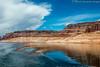 Lake Powell (simone_a13) Tags: usa unitedstates arizona utah lakepowell lake reflection wake landscape water cloud weather geology