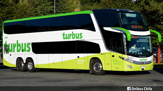 Nº 2925 / Marcopolo Pardiso G7 1800 DD / Tur-Bus