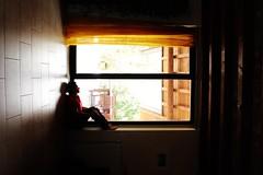 different points of view (Flavio Calcagnini) Tags: io autoritratto casa finestra window controluce self portrait selfportrait man uomo punto di vista mondo world flavio calcagnini different photography