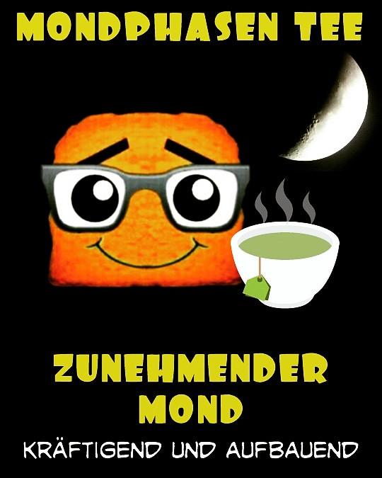 Tee bei zunehmenden Mond