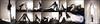 Vibrant White (llbdevu) Tags: lycra spandex catsuit zentai leotard tights tight shiny glossy nylon footed legs feet white black blue flash shimmery danskin boy men costume posing gymnast mask encasement