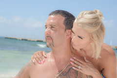 Look away (Cris_Pliego) Tags: session beach caribe sunset love family couple happy pose smile holdinghands lookaway solo model kiss birthday hug jump gay