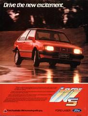 1984 KB Ford Laser S 3 Door Hatchback Aussie Original Magazine Advertisement862 (Darren Marlow) Tags: 1 4 8 9 19 84 1984 k b kb ford laser s 3 door h hatchback d mazda 2 323 a automobile c car collectible collectors classic jap japan japanese v vehicle 70s