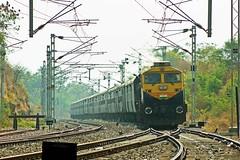 Nagavali Exp. (B V Ashok) Tags: nagavali superfast express 20809 ecor sambalpurnanded sbpned cvb cavalrybarracks scr kzj kazipet wdg4d emd 70654