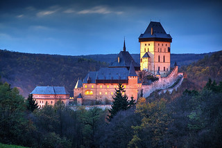 Karlstejn Evening