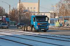 Volvo FM.420  Т 788 КН  96 (RUS) (zauralec) Tags: город автомобиль улица транспорт грузовик екатеринбург volvo fm420 т 788 кн 96 rus